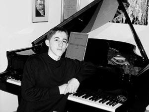 Il giovane pianista Vincenzo Maltempo