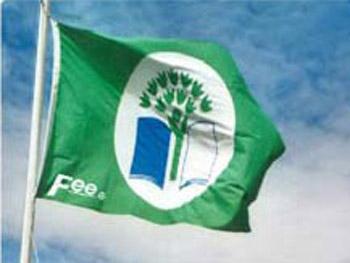 Celebrazione del riconoscimento Bandiera Verde