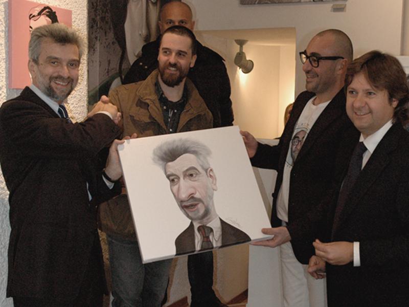 Cesare Damiano, Marco ed Andrea Calcinaro, Mauro Burtoli