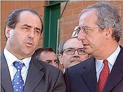 Antonio Di Pietro e Walter Veltroni