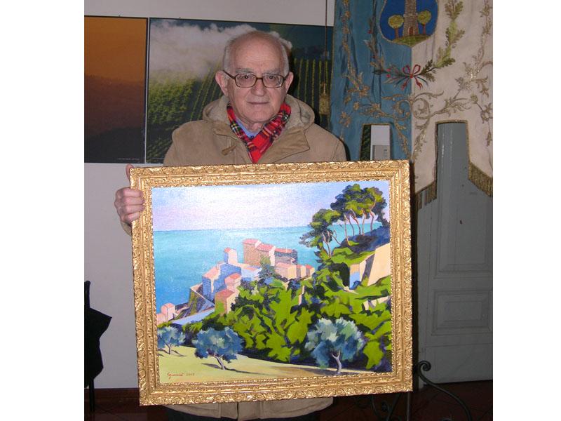 L'artista Antonio Sguerrini, l'artista e la sua opera