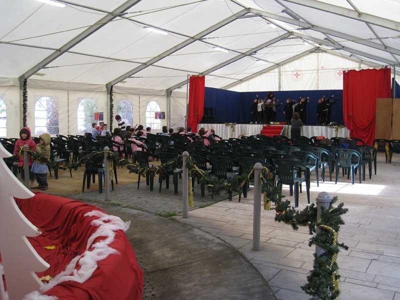 Il teatro-tenda di Martinsicuro