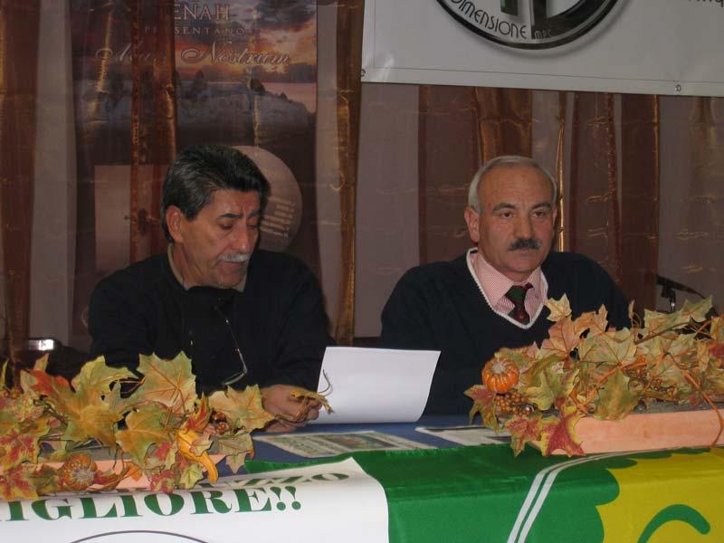 Marco Foglia e Mario Viola dei Verdi di Martinsicuro