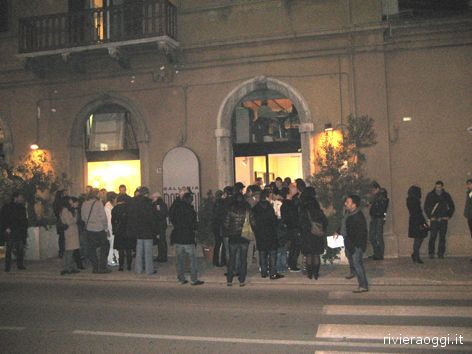 Galleria Marconi: l'inaugurazione della mostra