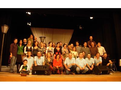 """Il cast del musical """"Il Rompibolle"""""""