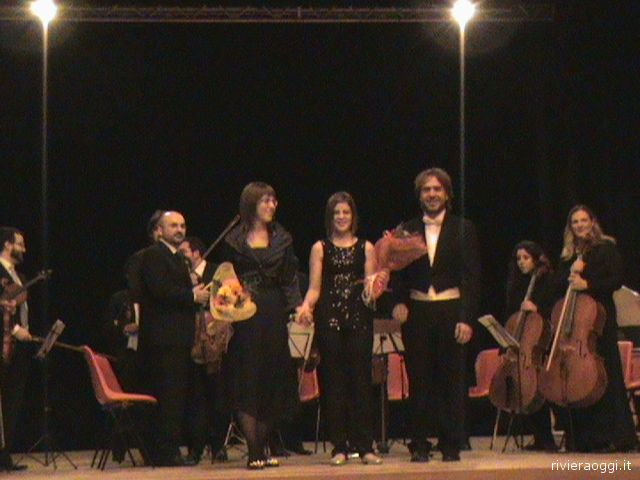 Il concerto dell'associazione musicale Franz Schubert al Teatro Concordia il 27 dicembre 2008