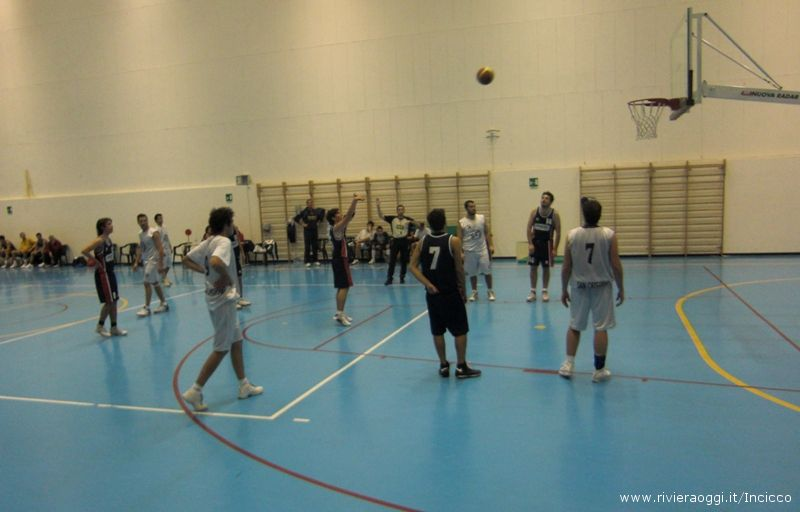 Grottammare Basket in campo