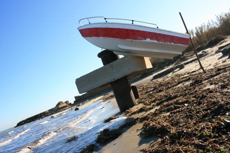Sentina, gli effetti dell'erosione sulla spiaggia