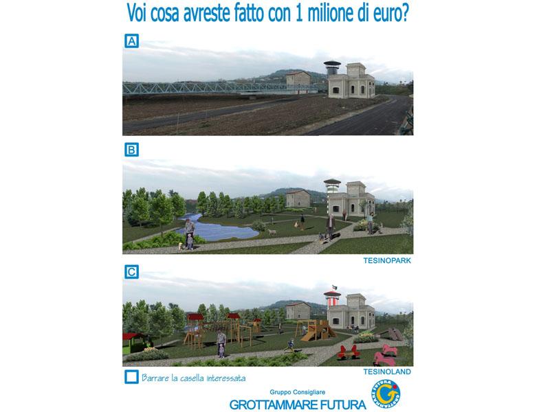 Grottammare futura chiede ai cittadini: «Cosa avreste fatto con un milione di euro?»
