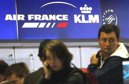 Una insegna dell'Airfrance-Klm