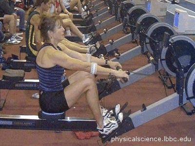 Al palazzetto dello sport, domenica 11 gennaio, si è svolta la gara di Indoor rowing