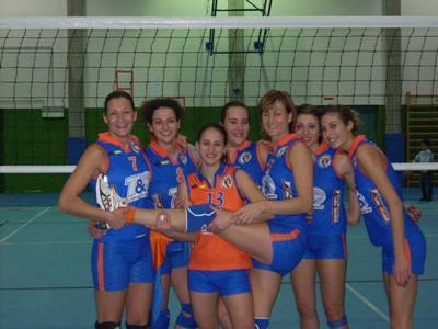 Le ragazze della Prima Divisione Femminile della Truentum Volley
