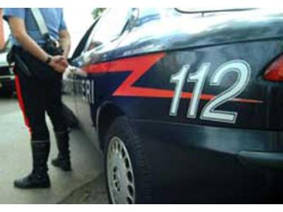 I Carabinieri hanno posto fine all'aggressione che poteva avere conseguenze più gravi