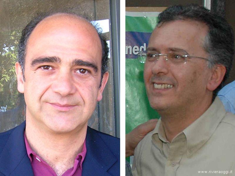 Claudio Benigni e Felice Gregori, rispettivamente capogruppo consiliare e segretario comunale del Pd a San Benedetto