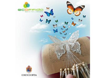 Il logo di Ecoffida Srl, società che gestisce il sistema di raccolt adi rifiuti nel territorio offidano