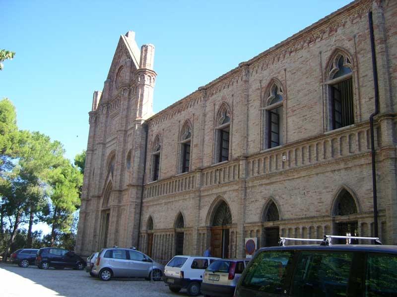 La Badia di Corropoli sede del Liceo Scientifico-Aeronautico