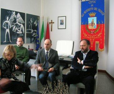 Da sinistra: L.Emili, M.Laureati, A.Filiaggi, G.Gaspari