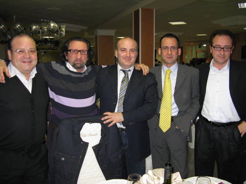 Giacinto De Luca e Toni Lattanzi di An, l'ex vicesindaco di Teramo Berardo Rabbuffo, Giorgio Morganti