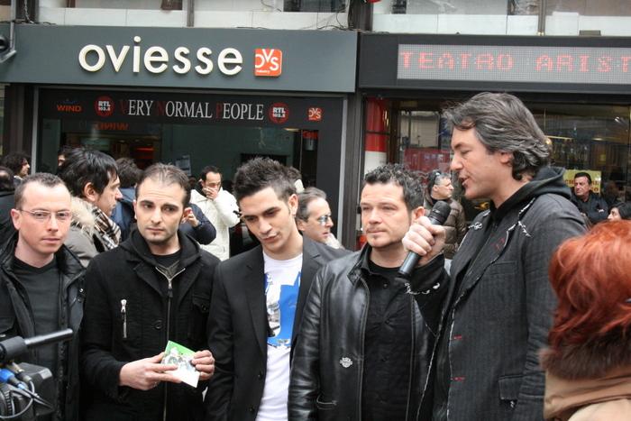 I Secondavera intervistati a Sanremo