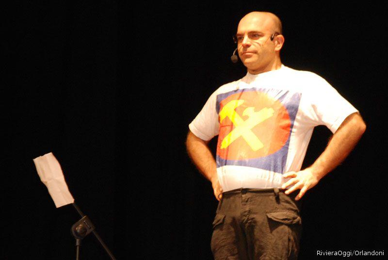 Il cabarettista Antonio Gambino