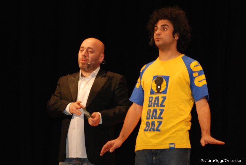 Il brillante Marco Bazzoni-Buz con Alex De Santis