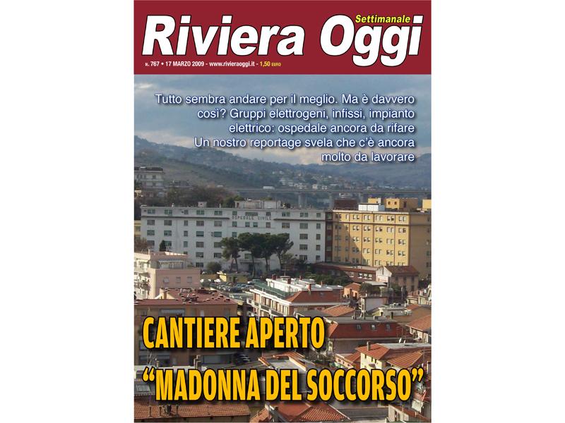 La copertina di Riviera Oggi numero 767