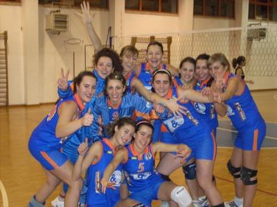 nella foto la Prima Divisione della Truentum Volley