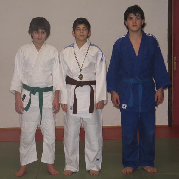 Emanuele Bellini, Claudio Di Vaio e Alessio Albertini