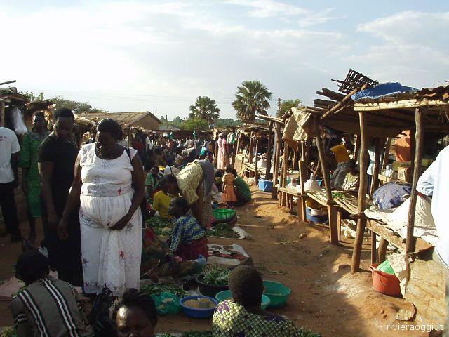 Uganda: il mercato di Kitgum