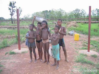 Bambini del Benin