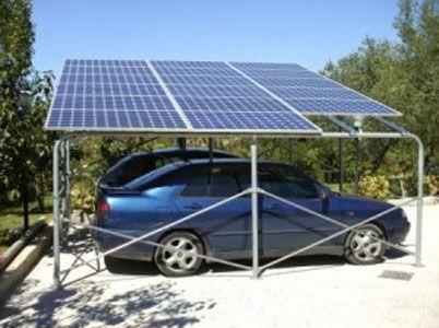 Un esempio di parcheggio fotovoltaico