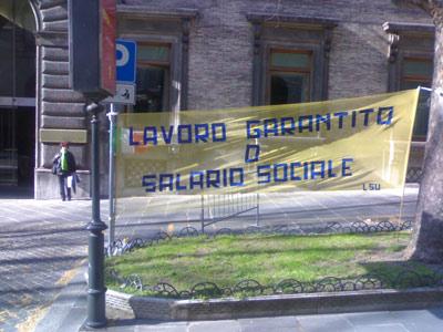 Gli lsu della Val Vibrata manifestano a Roma