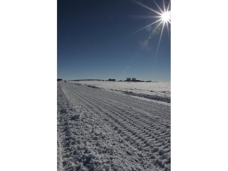 Panorama al Polo Sud