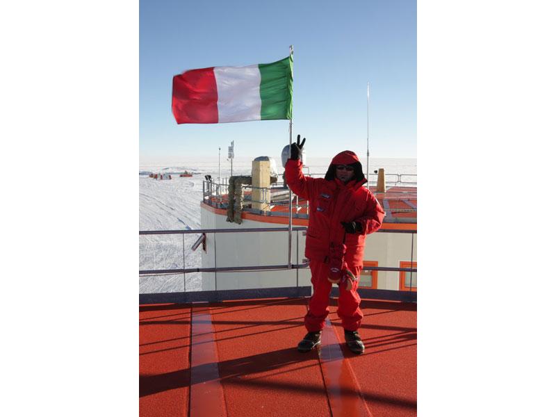 Domenico Fasano sulla base del Concordia