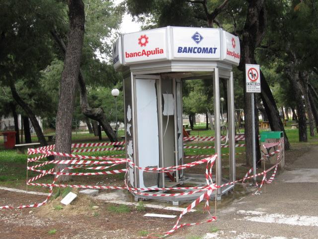 Nuovo bancomat sul lungomare di San Benedetto