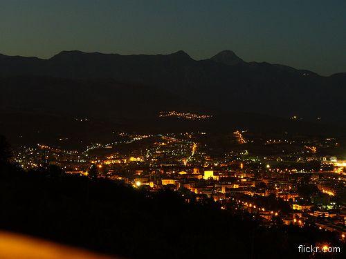 L'Aquila: con questa foto pubblicammo la notizia del terremoto del 6 aprile 2009