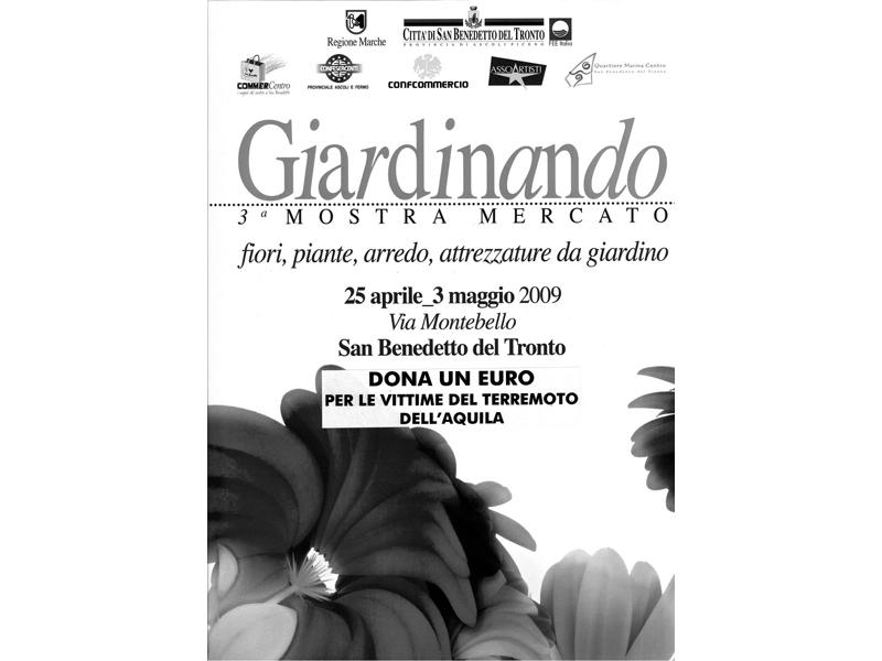 Il manifesto della mostra mercato Giardinando