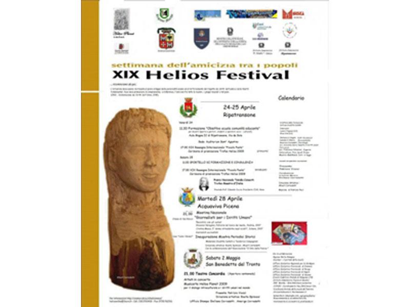 Il programma dell'Helios Festival