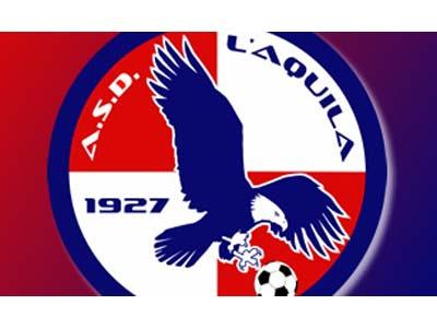 Il logo dell'Aquila Calcio