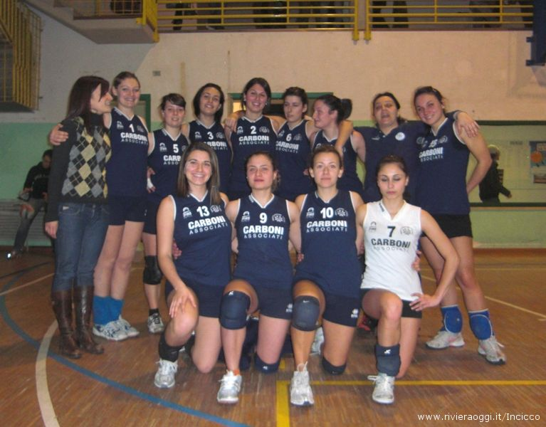 Seconda divisione femminle Grottammare Volley