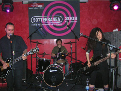 Spark di Roma, vincitori di Sotterranea Rock 2008