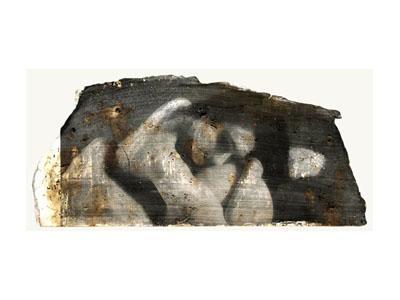 Una delle opere in mostra di Ettore Tavoletti