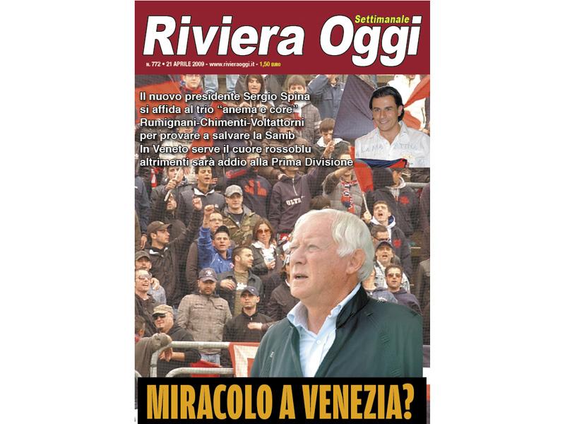 La copertina di Riviera Oggi numero 772