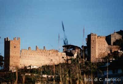 Un'immagine del borgo di Marano, dove nacque nel 1533 G. B. Evangelisti