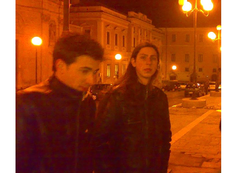 Alessandro Magno e Raffaele Cavallero, due studenti sambenedettesi scampati al disastroso sisma che ha sfregiato L'Aquila il 6 aprile 2009