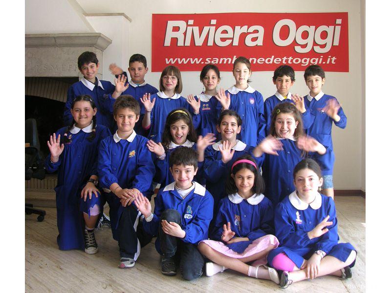 La classe 4 B della scuola Speranza saluta l'anno scolastico finito (foto d'archivio)