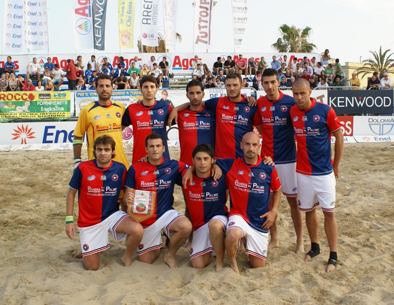 La Samb Beach Soccer al suo storico esordio contro i vicecampioni d'Italia del Terracina