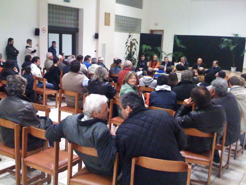 L'incontro di lunedì 4 maggio nella sala del Buon Pastore a Villa Rosa