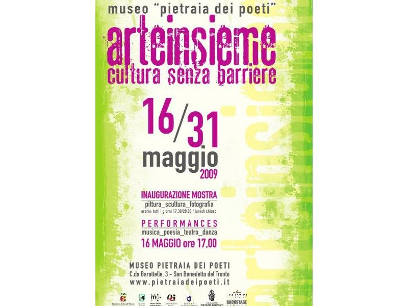 Il manifesto dell'evento alla Pietraia dei Poeti