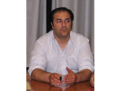 L'assessore al Bilancio Marco Cappellacci